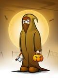 Fundo da noite de Halloween. Imagem de Stock