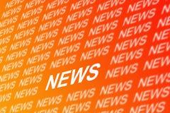 Fundo da notícia ilustração do vetor