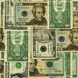 Fundo da nota de banco dos E.U. Imagem de Stock