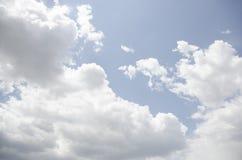 Fundo da nuvem Fotografia de Stock
