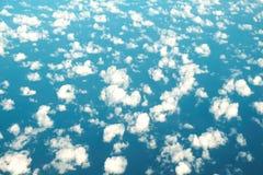 Fundo da nuvem a mais alta fotos de stock