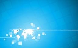fundo da Olá!-tecnologia. Vetor Imagem de Stock