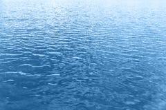 Fundo da onda de água azul Foto de Stock