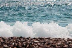 Fundo da onda do mar Imagens de Stock