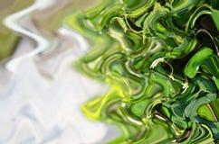 Fundo da onda verde Foto de Stock Royalty Free