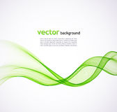 Fundo abstrato da onda verde Foto de Stock