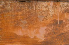 Fundo da oxidação do metal, oxidação do grunge e textura do fundo da corrosão imagem de stock