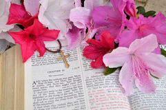 Fundo da Páscoa do gospel foto de stock royalty free