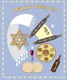 Fundo da páscoa judaica Imagem de Stock