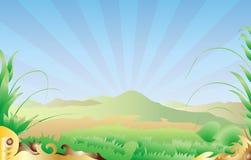 Fundo da paisagem Imagem de Stock