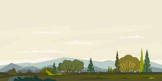 Fundo da paisagem da natureza Imagem de Stock Royalty Free