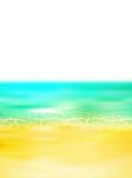 Fundo da paisagem do verão do mar Fotos de Stock Royalty Free