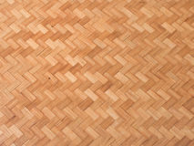 Fundo da palha, textura do weave de bambu da cesta Fotografia de Stock Royalty Free