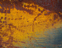 Fundo da parede da oxidação colorido Imagens de Stock