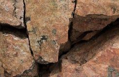 Fundo da parede da rocha Imagem de Stock Royalty Free