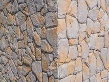 Fundo da parede da rocha Foto de Stock