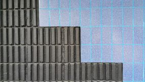 Fundo da parede da telha de mosaico Fotos de Stock Royalty Free