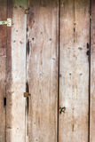 Fundo da parede das placas de madeira Fotos de Stock