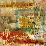 Fundo da parede de Grunge Foto de Stock Royalty Free