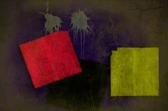 Fundo da parede de Grunge em planos múltiplos Fotografia de Stock Royalty Free