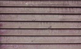 Fundo da parede de madeira Fotografia de Stock Royalty Free