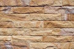 Fundo da parede de pedra Fotografia de Stock