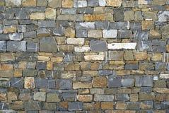 Fundo da parede de pedra imagens de stock