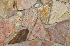 Fundo da parede de pedra Imagem de Stock Royalty Free