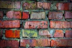 Fundo da parede de tijolo Fotografia de Stock Royalty Free