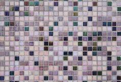 Fundo da parede de tijolo da telha Fotografia de Stock Royalty Free