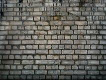 Fundo da parede de tijolo de Grunge Fotos de Stock