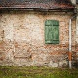 Fundo da parede de tijolo do vintage Fotografia de Stock Royalty Free