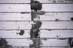 Fundo da parede de tijolo suja velha imagens de stock