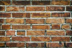 Fundo da parede de tijolo velha do vintage Fotos de Stock Royalty Free