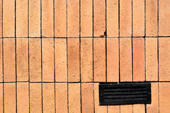 Fundo da parede de tijolo velha no recurso de Tailândia foto de stock royalty free