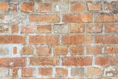 Fundo da parede de tijolo vermelho imagens de stock royalty free