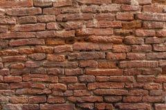 Fundo da parede de tijolo vermelho Fotografia de Stock