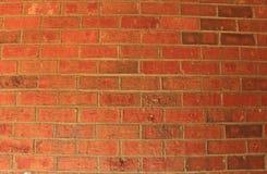 Fundo da parede de tijolo vermelho Foto de Stock