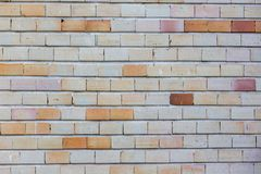 Fundo da parede de tijolos Foto de Stock Royalty Free