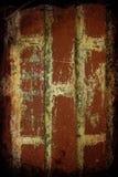 Fundo da parede de tijolos de Grunge Imagens de Stock Royalty Free