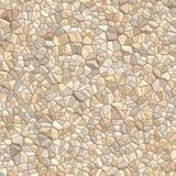 Fundo da parede do CobbleStone Foto de Stock