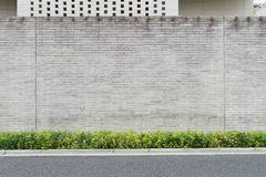 Fundo da parede da rua, fundo industrial imagem de stock royalty free