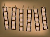 Fundo da película Imagem de Stock