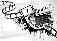 Fundo da película de filme Foto de Stock Royalty Free