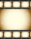 Fundo da película de Grunge Fotos de Stock