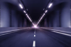 Fundo da perspectiva do túnel do borrão de movimento Fotos de Stock