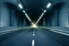 Fundo da perspectiva do túnel do borrão de movimento Imagem de Stock Royalty Free