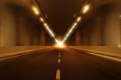 Fundo da perspectiva do túnel do borrão de movimento Imagens de Stock