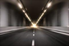 Fundo da perspectiva do túnel do borrão de movimento Imagem de Stock