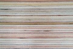 Fundo da pilha da madeira compensada Fotografia de Stock